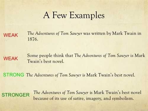 Four types of essay